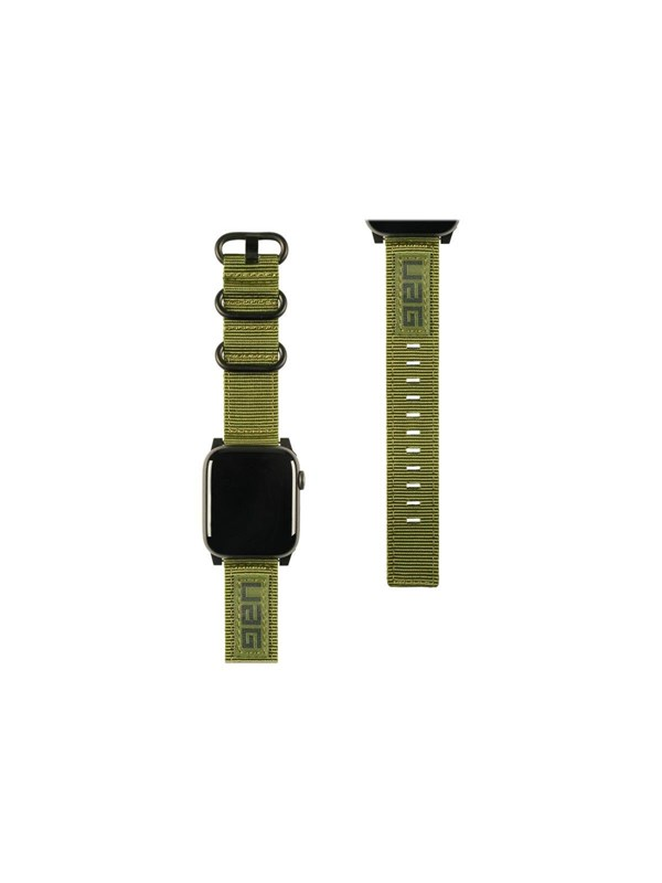 Image of   UAG Apple Watch Band 44mm 42mm Series 4/3/2/1 - Nato Olive Drab