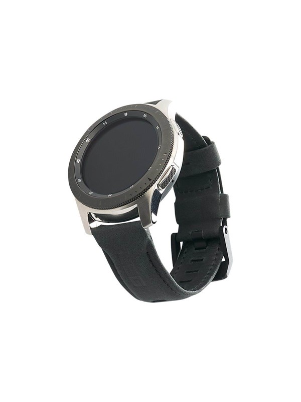 Image of   UAG Galaxy Watch Band 46mm - Leather Black