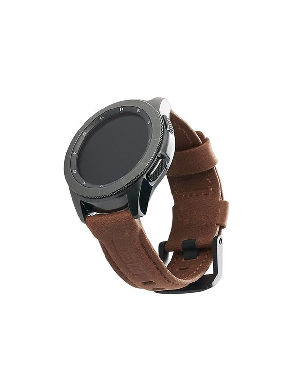 Image of   UAG Galaxy Watch Band 46mm - Leather Brown