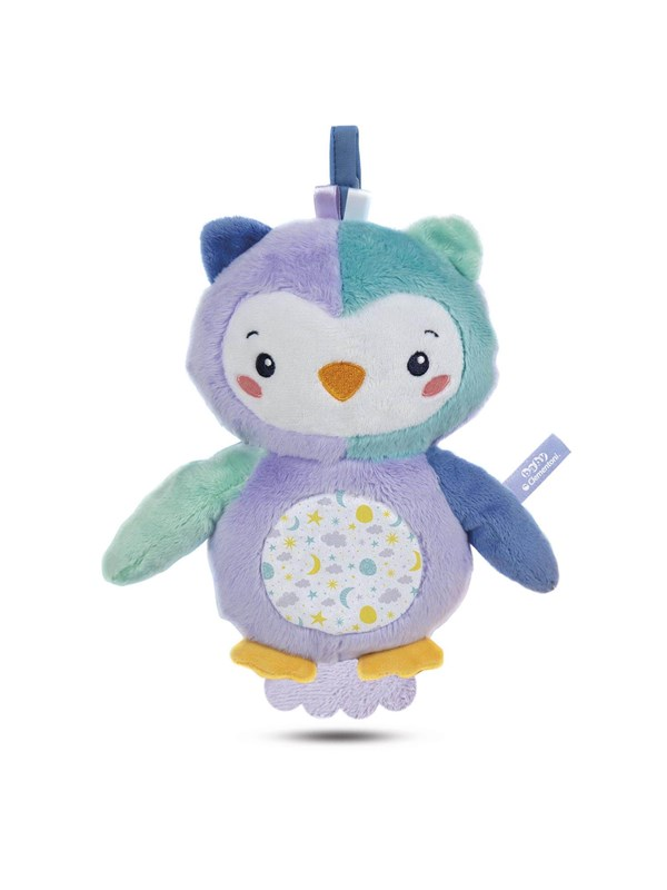 Image of   Clementoni First Month Owl Lighting Plush - INT