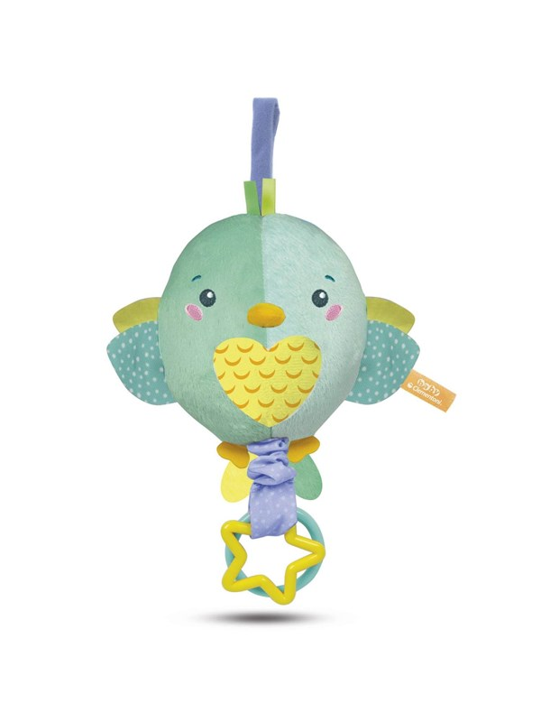 Image of   Clementoni First Month Plush Carillon Bird - INT