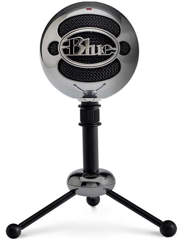 Image of   Blue Mic Snowball - Brushed Aluminum