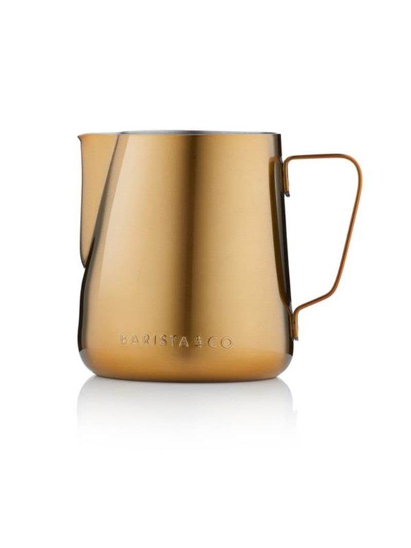 Image of   Barista & Co Gold Milk Jug 420 ml.