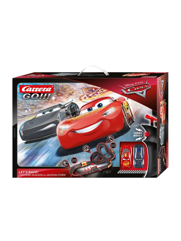 Image of   Carrera GO Disney Pixar Cars - Let's Race