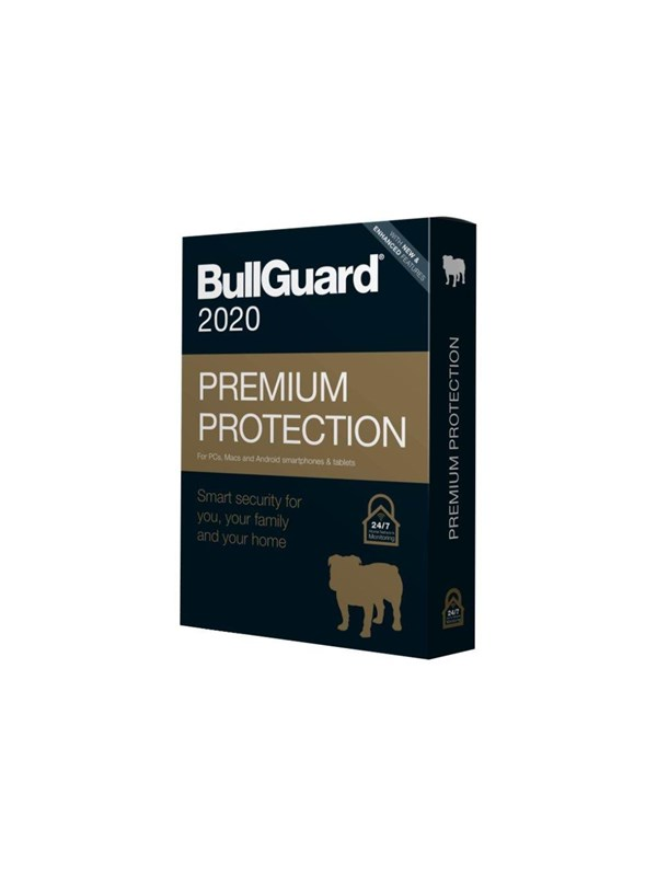 Image of   BullGuard Premium Protection 2020 - box pack (1 year) - 5 devices -