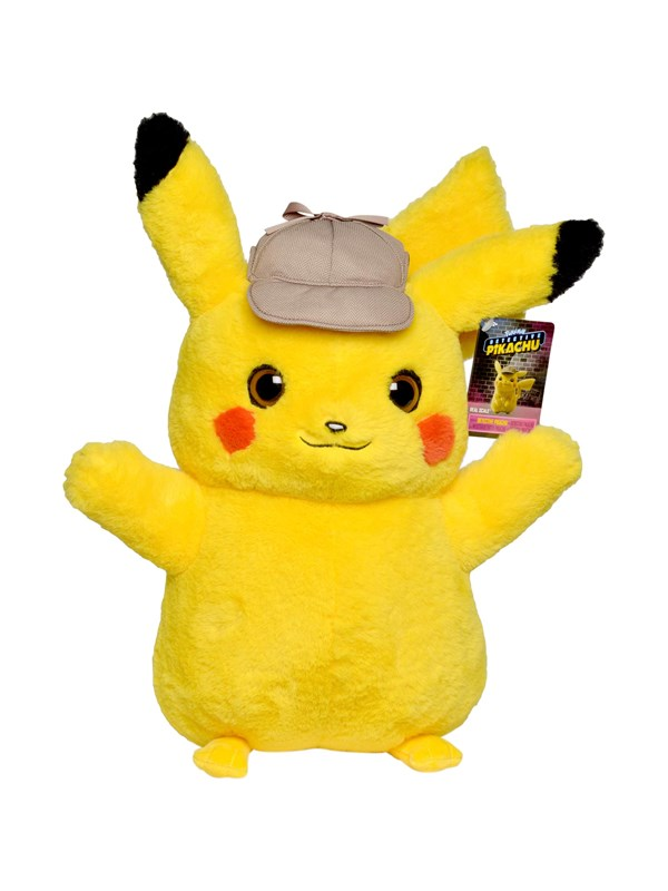 Image of   Pokemon Plush Pikachu 40 cm Real Scale - Movie -