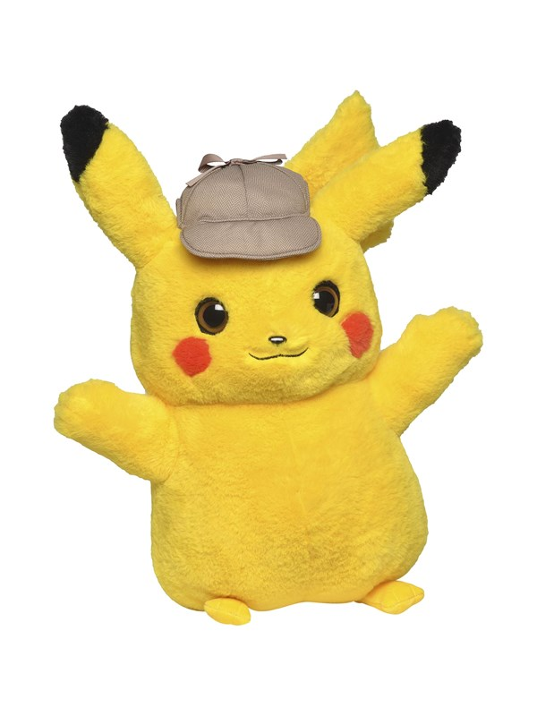Image of   Pokemon Plush Pikachu 20 cm - Movie -