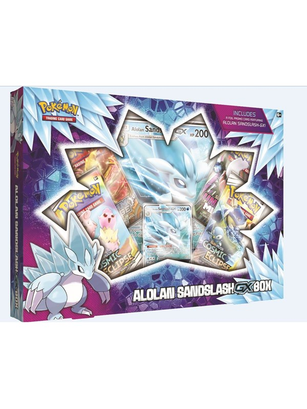 Image of   Pokemon Alolan GX box - Sword and Shield
