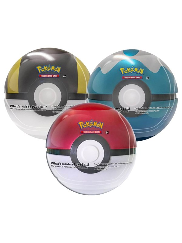 Image of   Pokemon PokéBall Tin - Sword and Shield