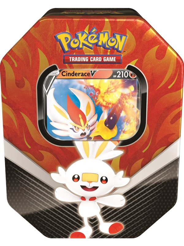 Image of   Pokemon Tin Galar Partner Scorbunny - Sword and Shield