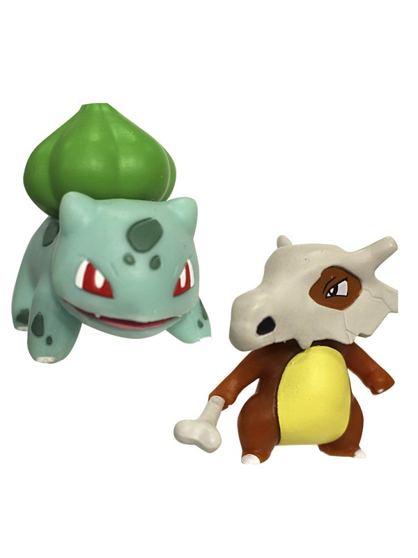 Image of   Pokemon Figure Battle Pack Bulbasaur & Cubone 2 pack (5cm) -