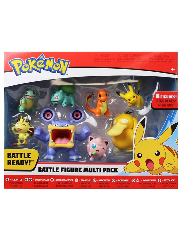 Image of   Pokemon Figure 8 Pack (5cm & 8cm) -