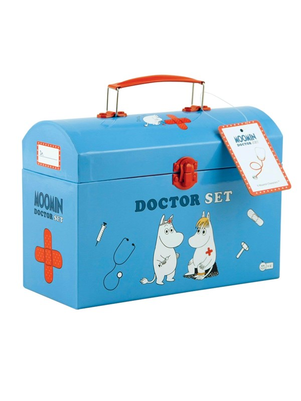 Image of   Barbo Toys Moomin Doctor set in carry box