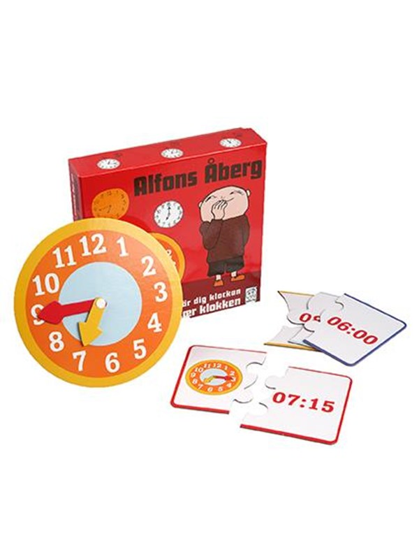 Barbo Toys Alfons Åberg Tell the time Floor