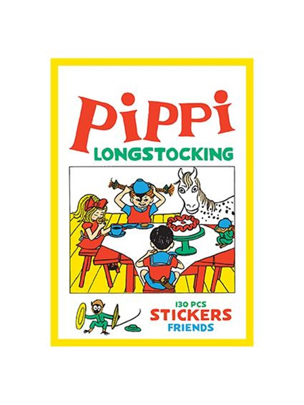Image of   Barbo Toys Pippi Stickers - Friends w. 130