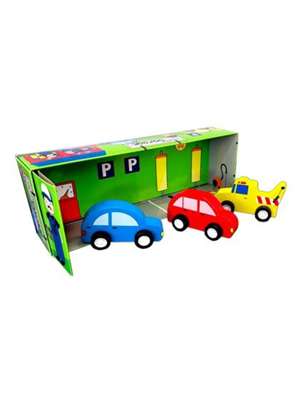Image of   Barbo Toys Barbo Classic My Little Garage/Cars