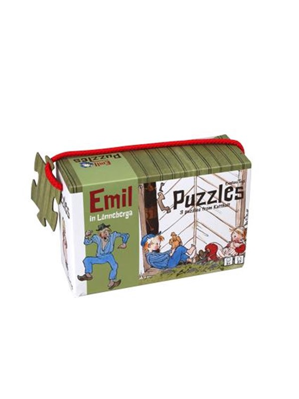 Image of   Barbo Toys Emil 3 puzzels Floor