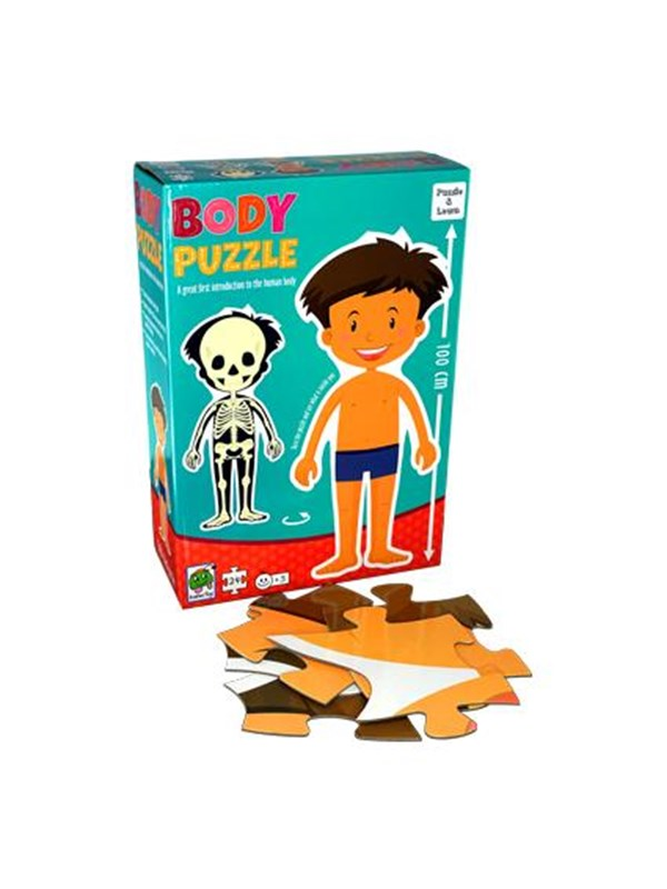 Image of   Barbo Toys Barbo Classic Body Puzzle Boy Floor