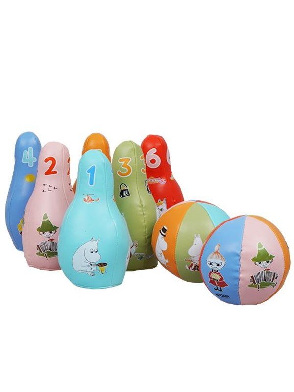 Image of   Barbo Toys Moomin Soft Bowling set