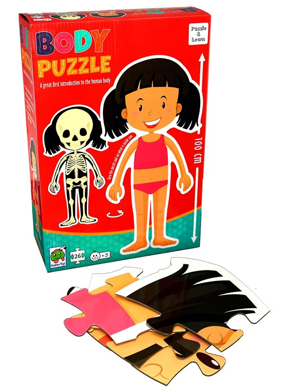 Image of   Barbo Toys Barbo Classic Body Puzzle Girl Floor