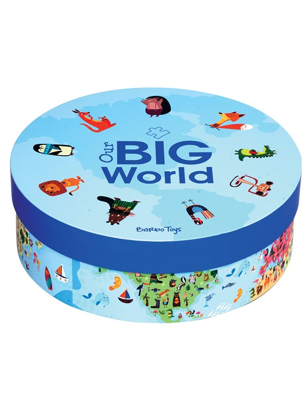 Image of   Barbo Toys Barbo Classic Our Big World Pussel Floor