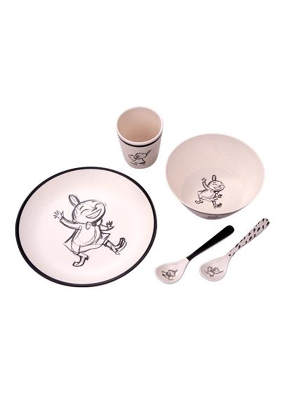 Image of   Barbo Toys Moomin Little My Bamboo Melamine 5 pcs package (pl - Care & Meals