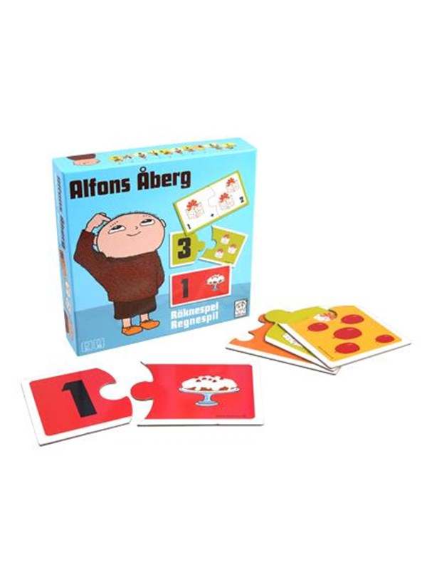 Image of   Barbo Toys Alfons Åberg Fun with Math Floor