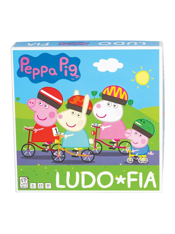Image of   Barbo Toys Peppa Pig Cykelludo