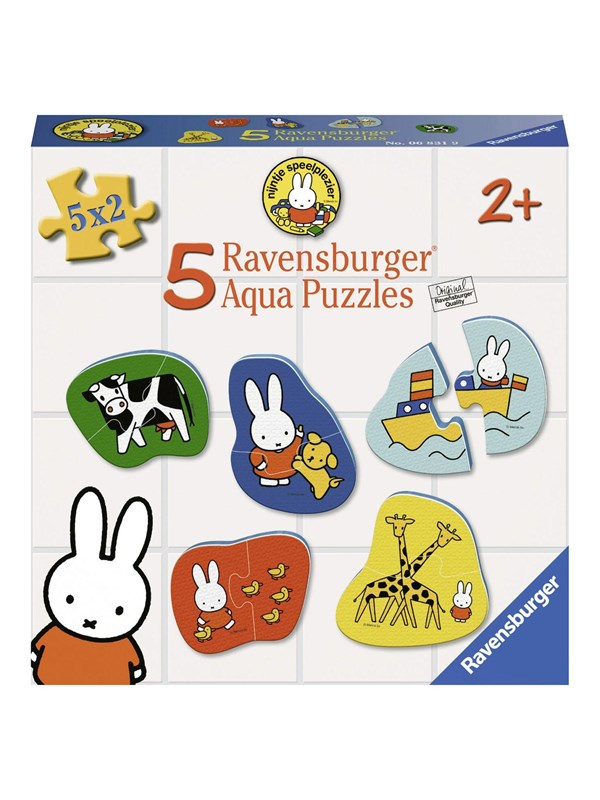 Ravensburger Aqua Puzzle Miffy 5x2 pieces Floor