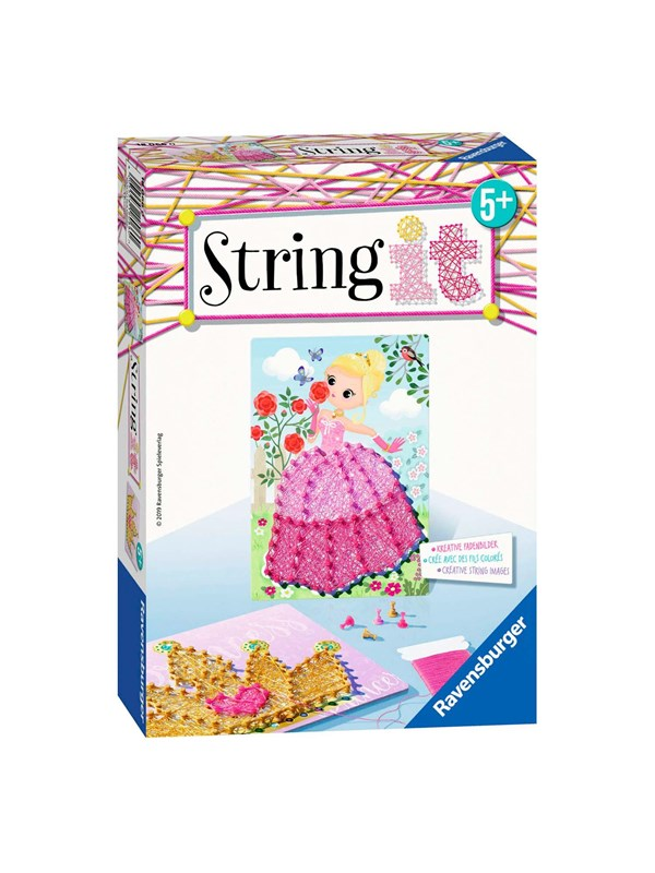 Ravensburger String It Mini - Pink Princess
