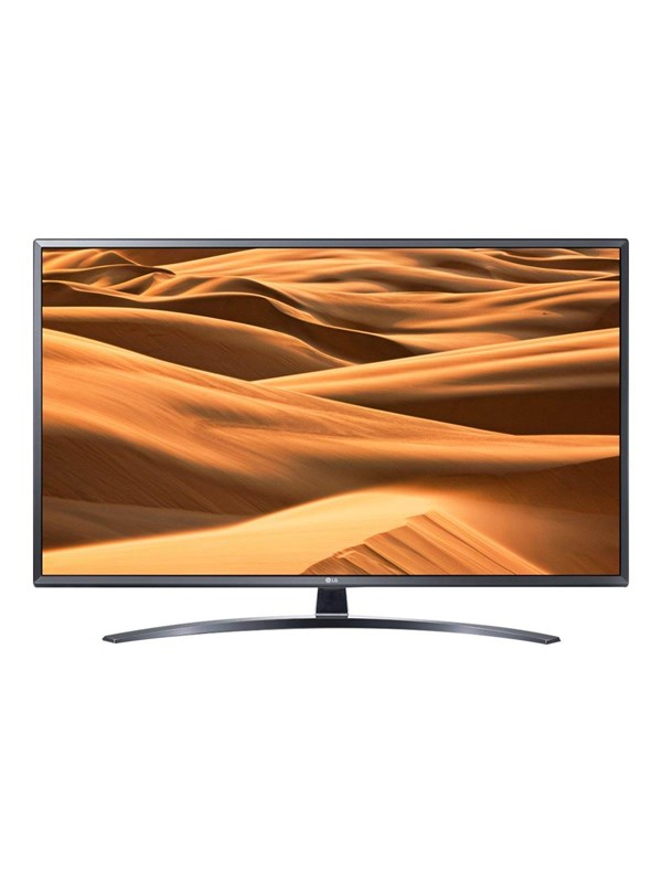 "Image of   LG 49"" Fladskærms TV 49UM7400 - LED - 4K -"