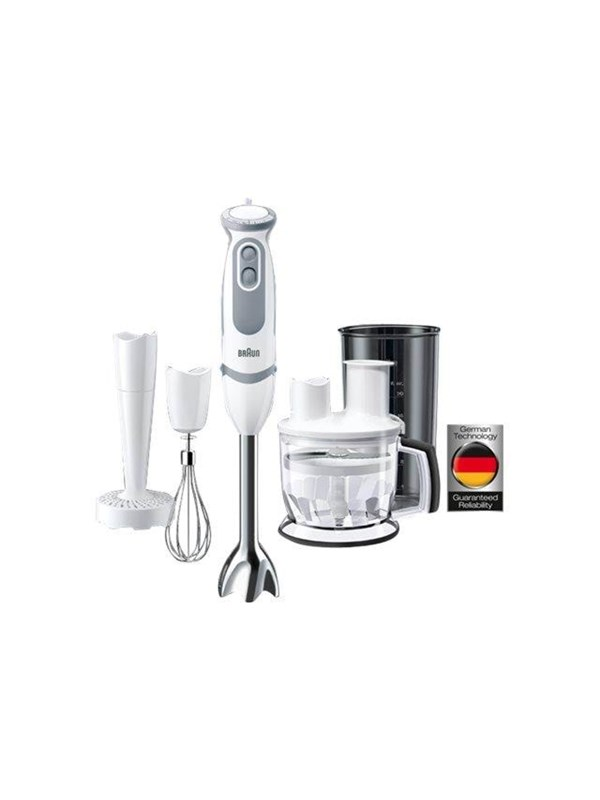Image of   Braun Stavblender Multiquick 5 Vario MQ 5077 WH Buffet + IdentityCollection - 750 W