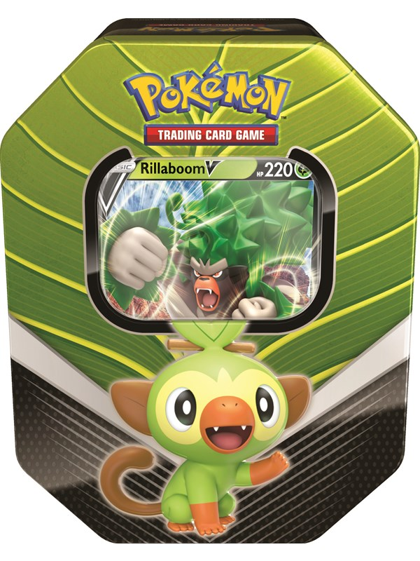 Image of   Pokemon Tin Galar Partner Grookey - Sword and Shield
