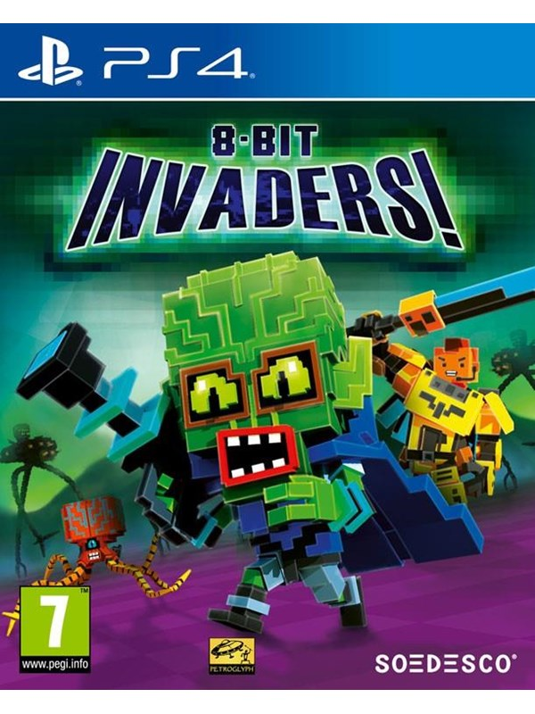 Image of   8-Bit Invaders - Sony PlayStation 4 - Strategi