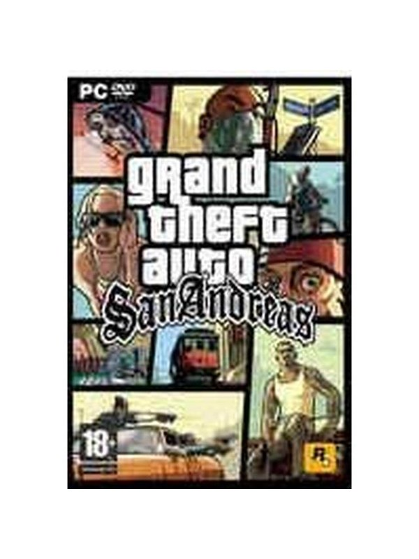 Grand Theft Auto: San Andreas - Mac - Action