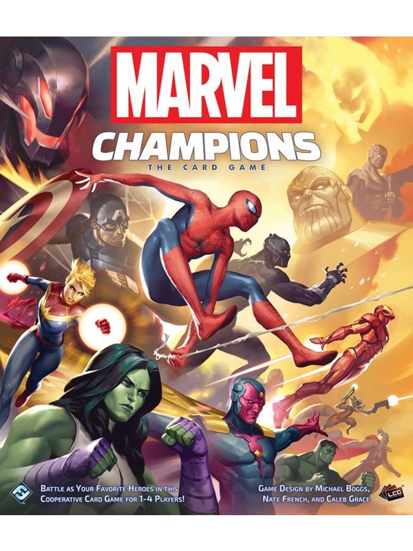 Image of   Asmodee Marvel Champions Card Game (ENG)
