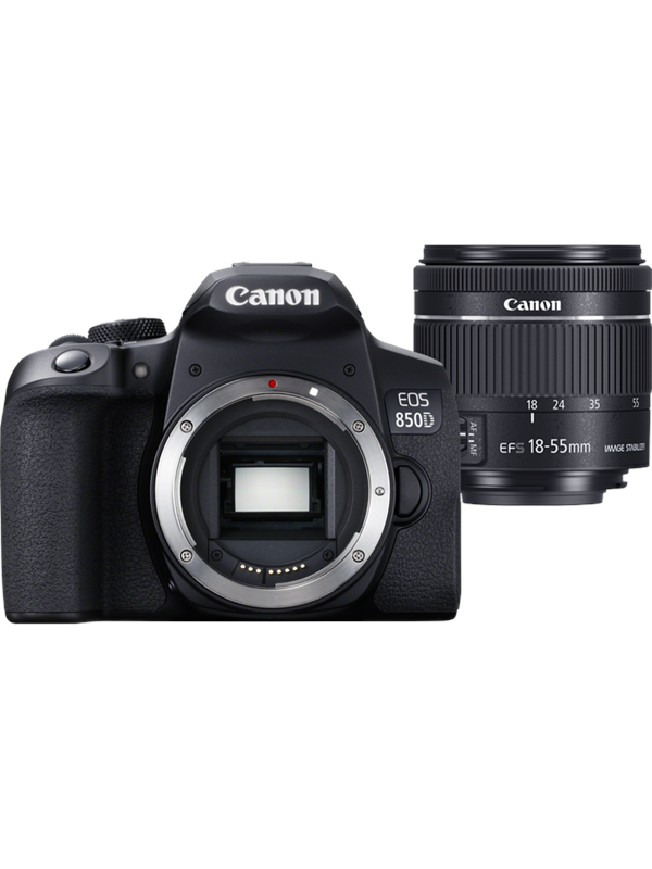 Image of   Canon EOS 850D 18-55mm IS STM