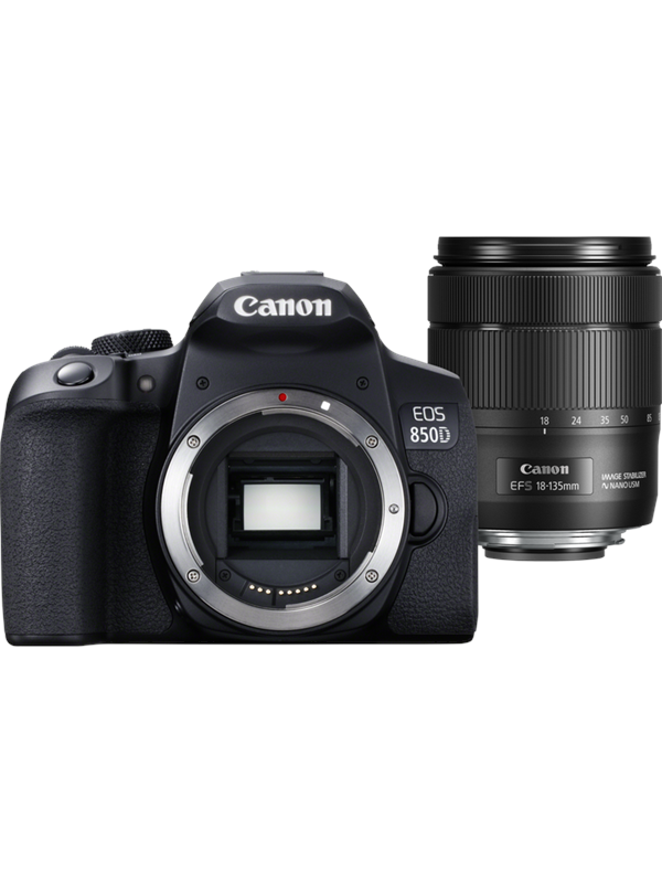 Image of   Canon EOS 850D 18-135mm IS USM