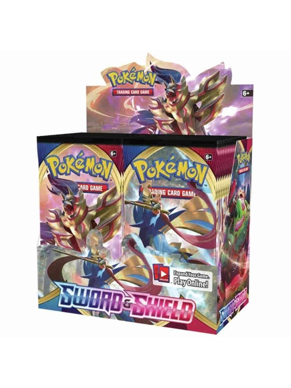 Image of   Pokemon Booster display (36 boosters) - Sword and Shield