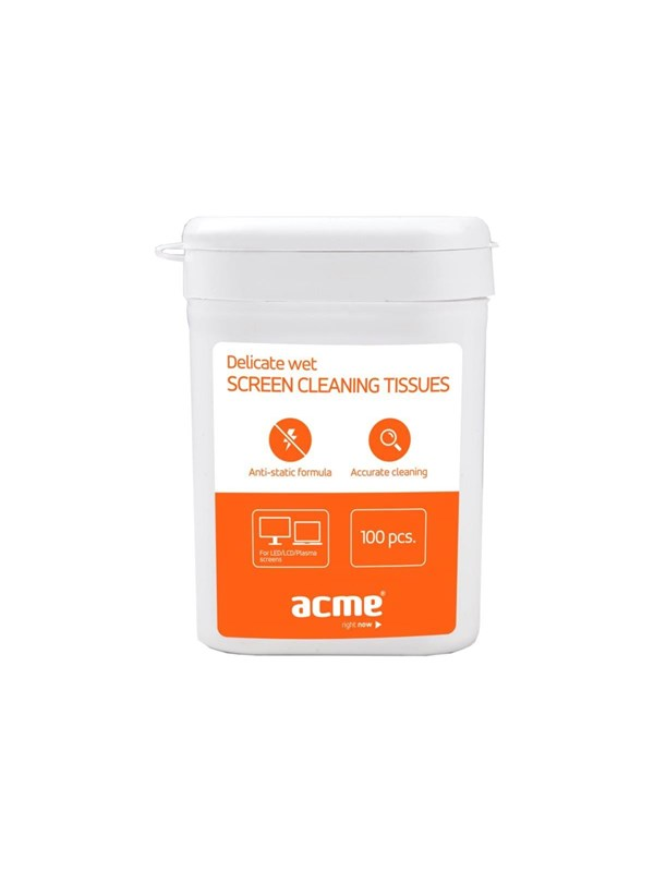 ACME Skærm Delicate Wet Screen Cleaning Tissues - cleaning wipes -