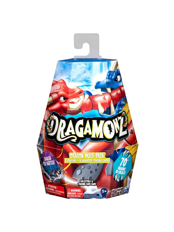 Image of   Dragamonz Dragon multipack asst.
