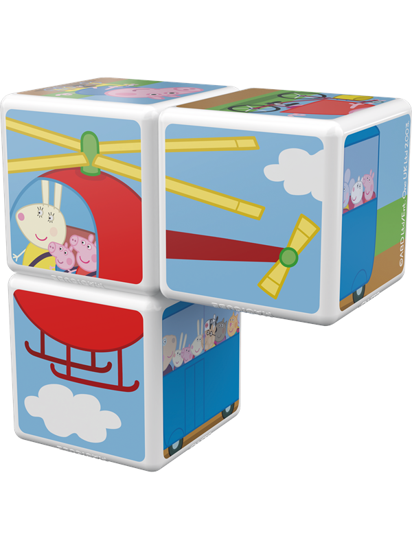 Image of   Geomag Magicube Travel with Peppa