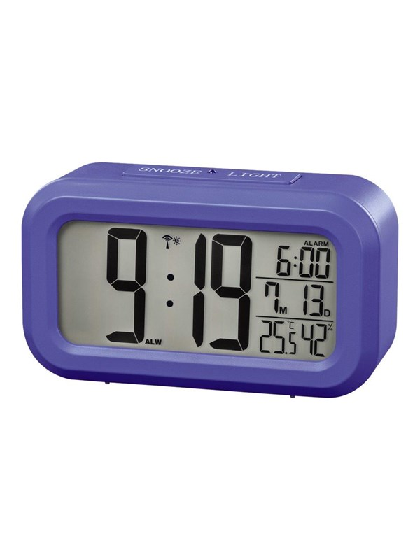 Image of   Hama RC 660 - alarm clock - blue