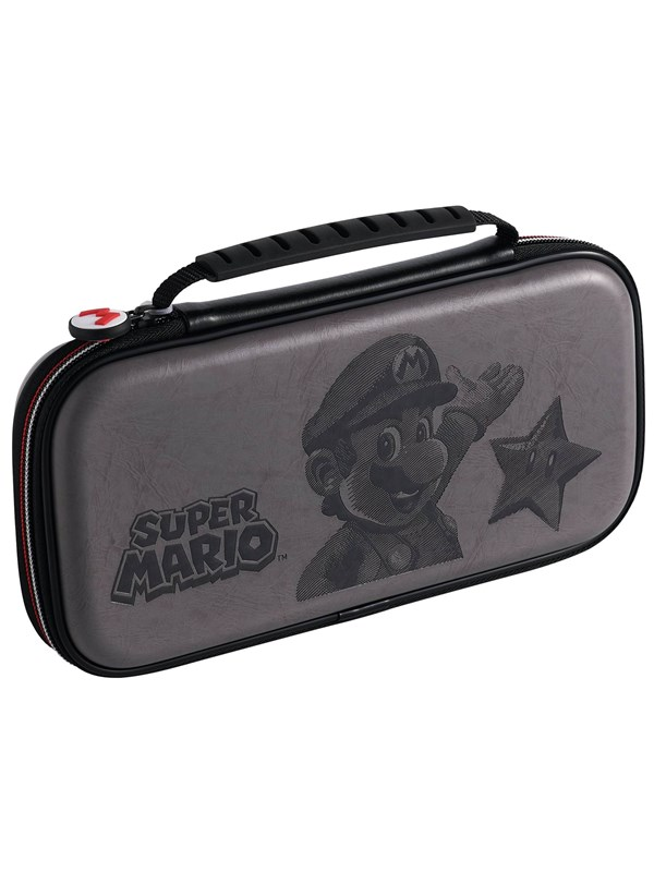 Image of   BigBen Interactive Nintendo Switch Official Travel Case Black Mario