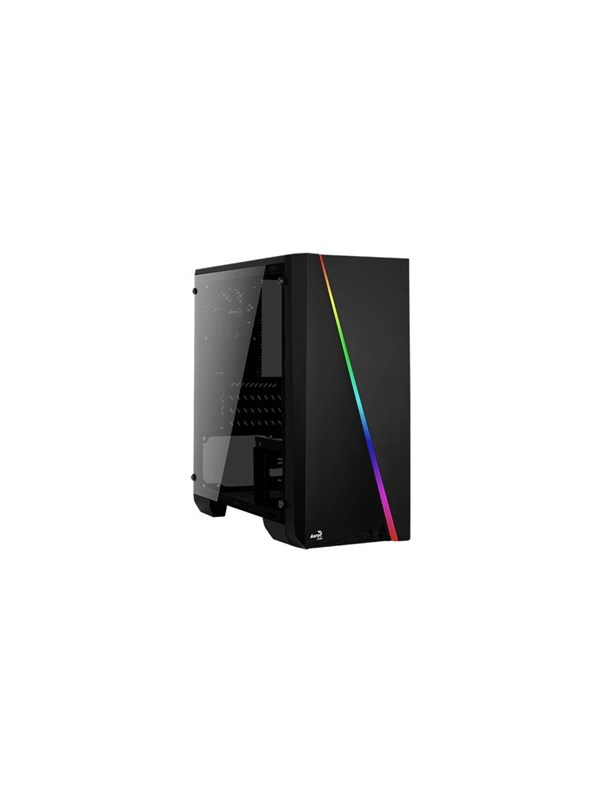 Image of   AeroCool Cylon Mini TG - Black - Kabinet - Minitower - Sort