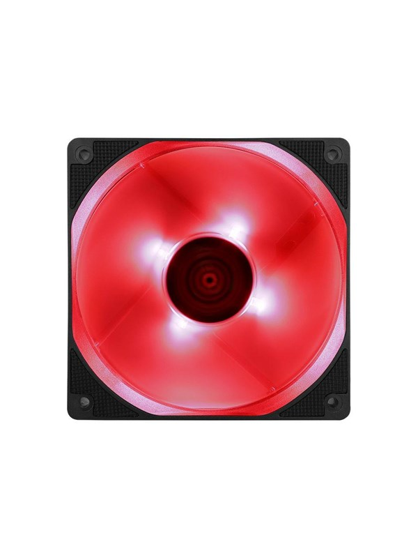 Image of   AeroCool Motion 12 Plus Red - Kabinet Køler - 120 mm -