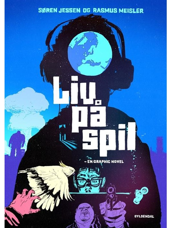 Image of   Liv på spil - en graphic novel