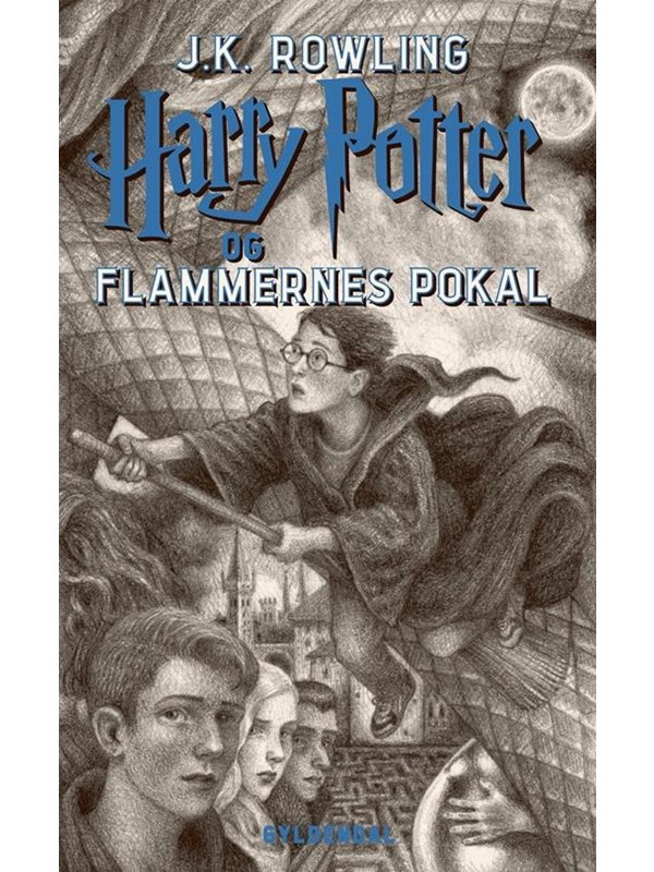 Image of   Harry Potter 4 - Harry Potter og Flammernes Pokal