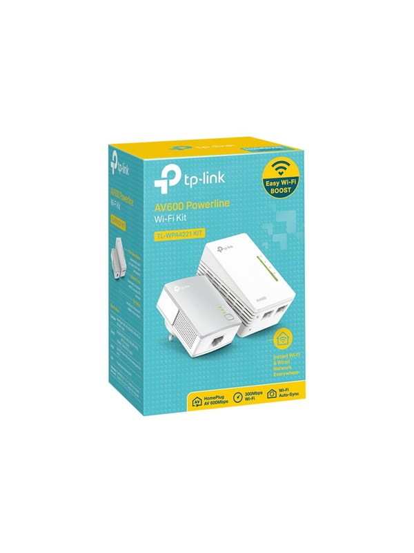 Image of   TP-Link Powerline AV600 Homeplug