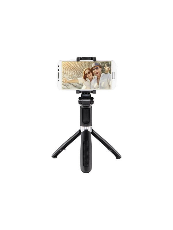 "Image of   Hama ""Funstand 57"" support system - shooting grip / mini tripod / selfie stick"